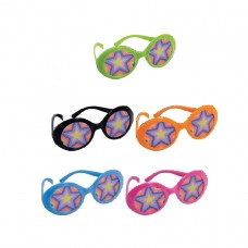GLASSES 70 S PRINTED LENSES