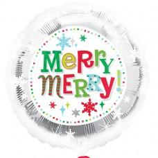 18IC:MERRY CHRISTMAS SFLAKES
