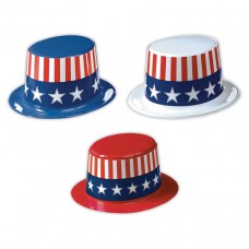 TOP HAT PATRIOTIC ASST.