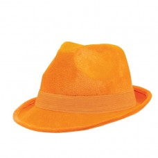 FEDORA HAT ORANGE