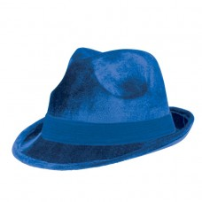 FEDORA HAT BLUE