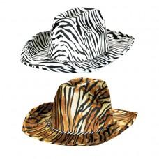 70's Disco Zebra Cowboy Hat