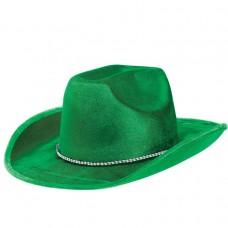 COWBOY HAT GREEN