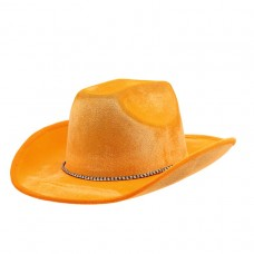 COWBOY HAT ORANGE