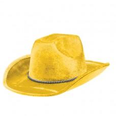 COWBOY HAT YELLOW