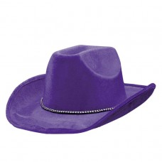 COWBOY HAT PURPLE