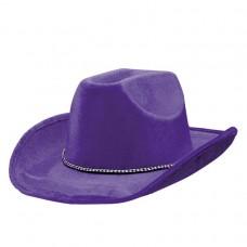 COWBOY HAT PURPLE