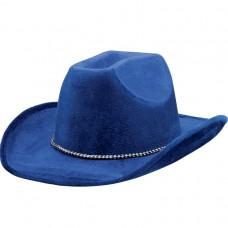 COWBOY HAT BLUE