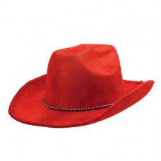 COWBOY HAT RED