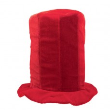 TALL TOP HAT RED