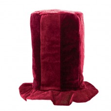 Burgundy Tall Top Hat
