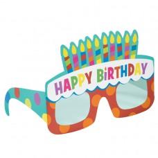 BIRTHDAY CAKE PPR GLASSES