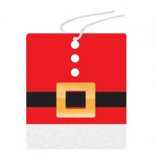 Mini Santa Suit Gift Tags