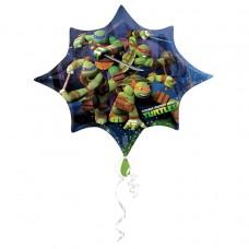 Ninja Turtles Supershape Foil Balloon