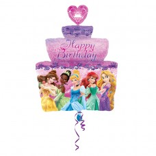 S/SHAPE:PRINCESS B-DAY CAKE