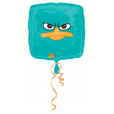Phines & Ferb Square Foil Balloon