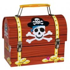Pirate Party Metal Favour Box