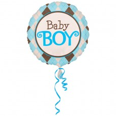 32C:Argyle Baby Boy