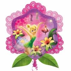 TinkerBell Flower Supershape Foil Balloon