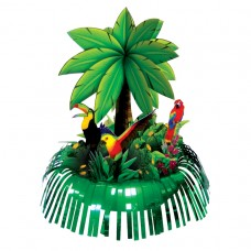 Hawaiian Themed Party Palm Tree Fringe Centrepiece