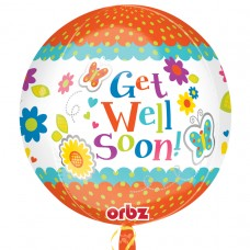 Orbz:Get Well Floral Butterflies