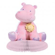 Pink Honeycomb Centrepiece