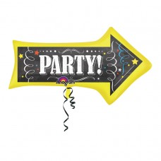 S/SHAPE:Chalkboard Birthday Arrow