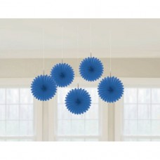 MINI FAN DEC BRT ROYAL BLUE