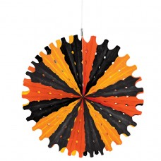 FAN TISSUE BLACK & ORANGE