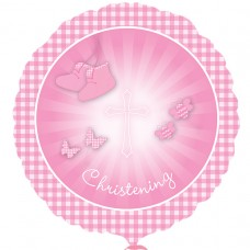 SD-C:Christening Booties Pink