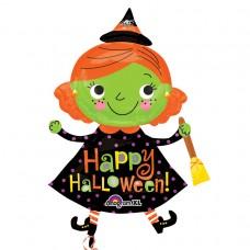 S/SHAPE:Halloween Cute Witch