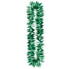 Hawaiian Themed Party Green Leaf Lei