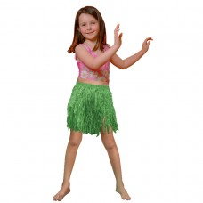 Hawaiian Themed Party Child Size Grass Tissue Hula Skirt