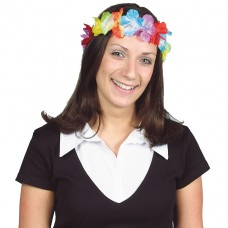 Hawaiian Themed Party Lei Headband