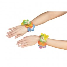 Flower Lei Wristband