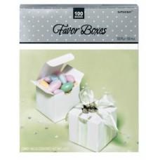 MEGA PACK FAVOR BOXES - WHITE