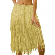 Natural Grass Skirt Adult