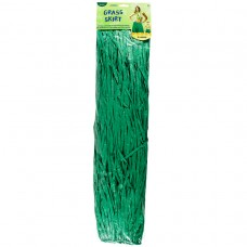 Green Grass Skirt Adult
