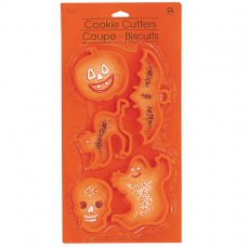 COOKIE CUTTERS:HALLOWEEN pk5