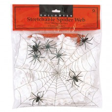 SPIDER WEB:WITH 4 SPIDERS sm