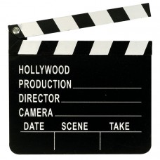 CLAPBOARD:HOLLYWOOD