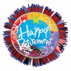 RETIREMENT BIG FUN BUTTON