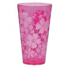 Pink Hibiscus Tumbler