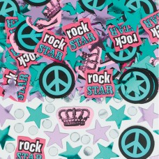 Rocker Girl Confetti