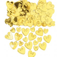 Gold Loving Hearts Confetti