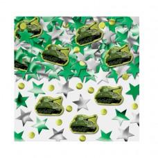 Camouflage Printed Confetti