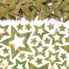 Gold Star Shimmer Confetti