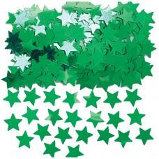 Stardust Metallic Green Confetti