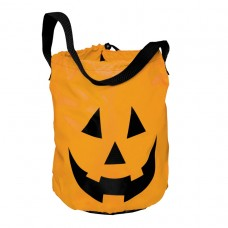 Pumpkin Polyester Tote Bag