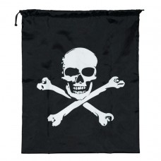 Drawstring Bag Skull & Crossbones